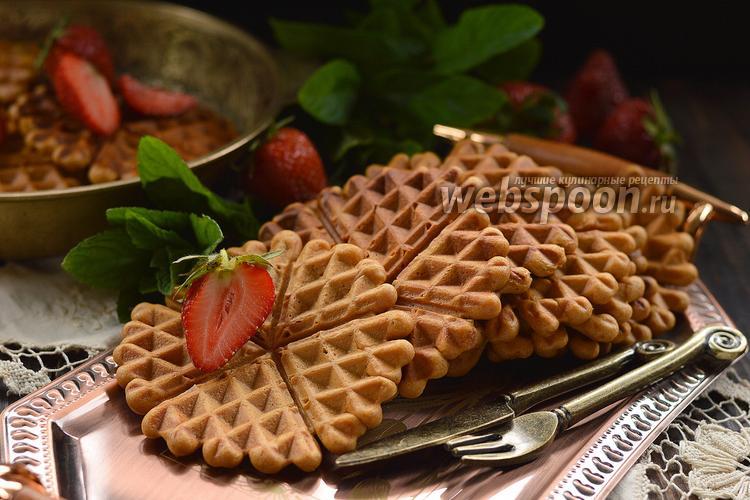 Рецепт Карамельные вафли