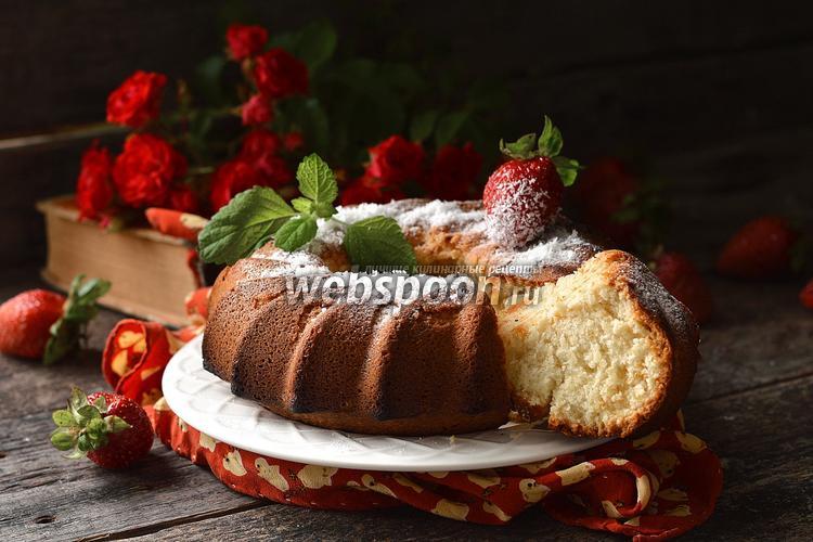 Рецепт Кокосовый кекс на белках