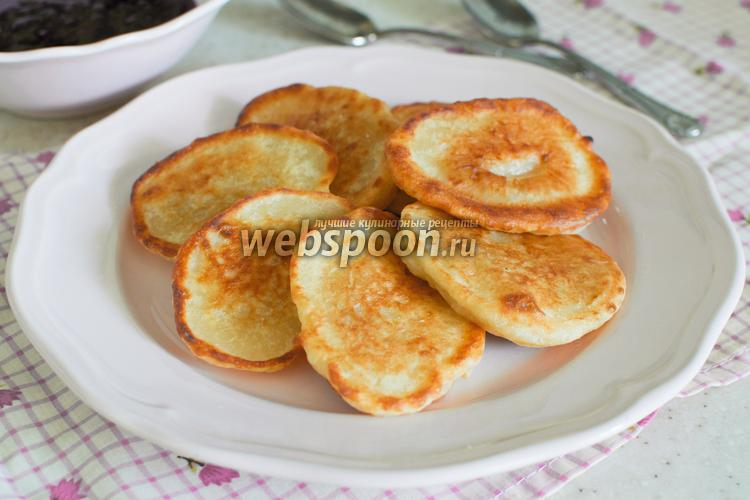 Рецепт Оладьи на простокваше без яиц