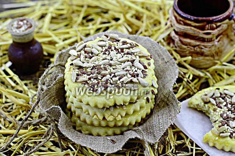 Рецепт Печенье со злаками