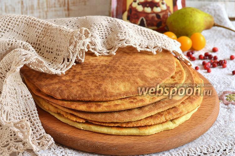 Фото Коржи на сковороде для тортов