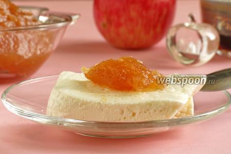 Конфитюр из яблок с имбирём