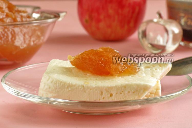 Рецепт Конфитюр из яблок с имбирём