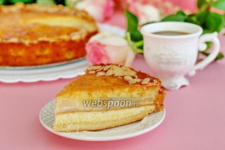 Швабский яблочный кухен