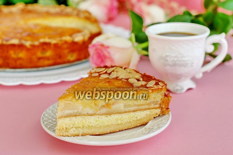 Фото Швабский яблочный кухен