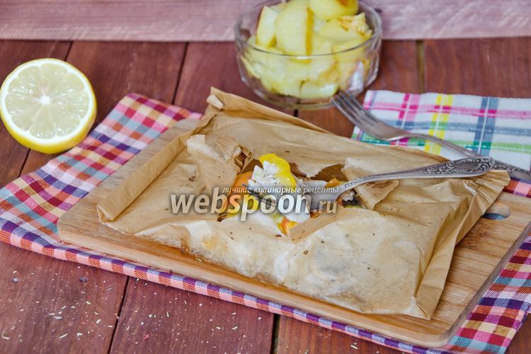 Рецепт Филе морского окуня с овощами
