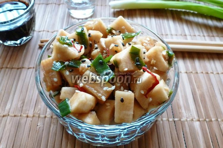 Рецепт Дайкон по-корейски