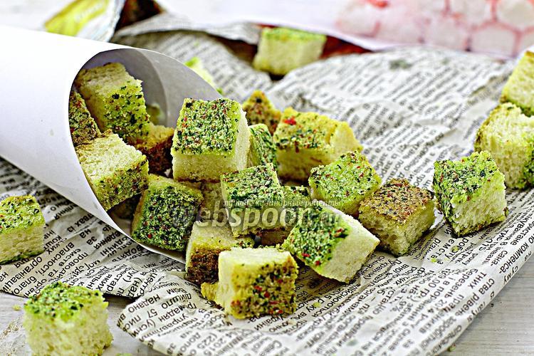 Рецепт Крабовые сухарики