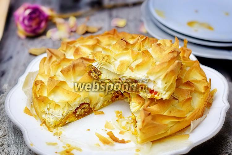 Рецепт Пикантный тыквенный штрудель-кухен