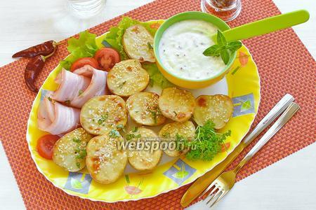 Вкусный запечённый картофель