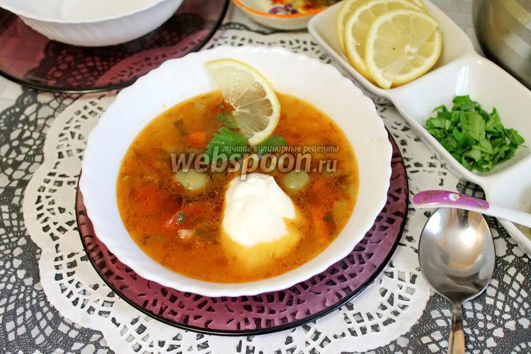 Рецепт Солянка с курицей