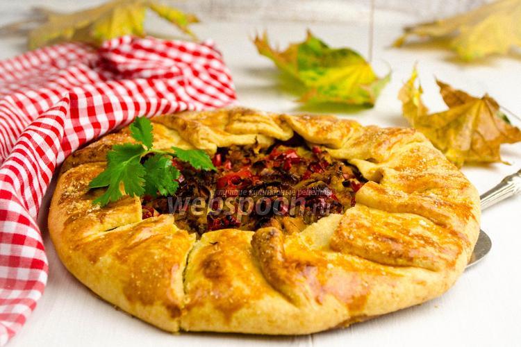 Рецепт Галета мясная с овощами