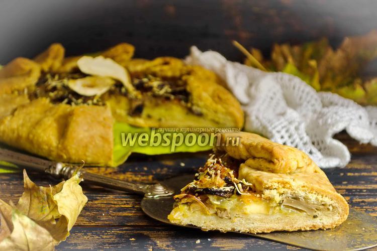 Фото Галета с грибами