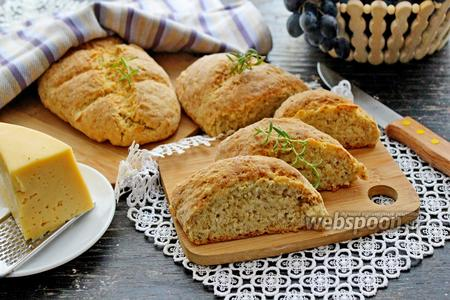 Овсяный хлеб с сыром
