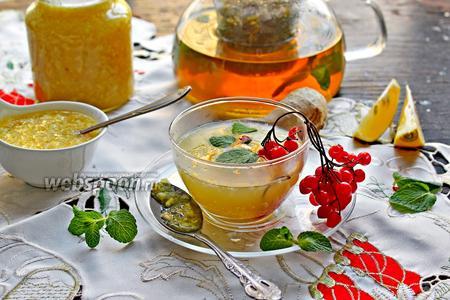 Имбирно-цитрусовый мёд
