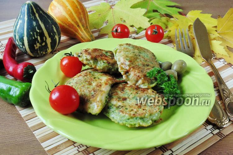 Рецепт Куриная грудка в шпинатном кляре