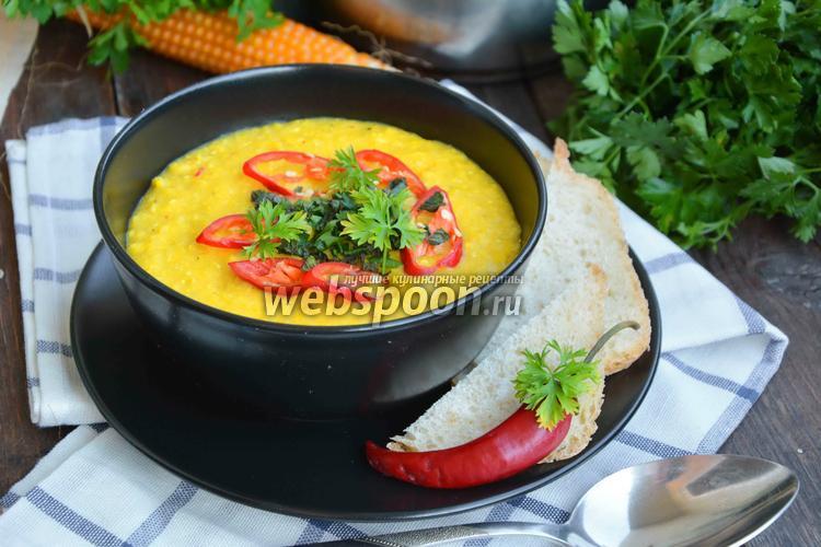 Рецепт Суп-пюре кукурузный