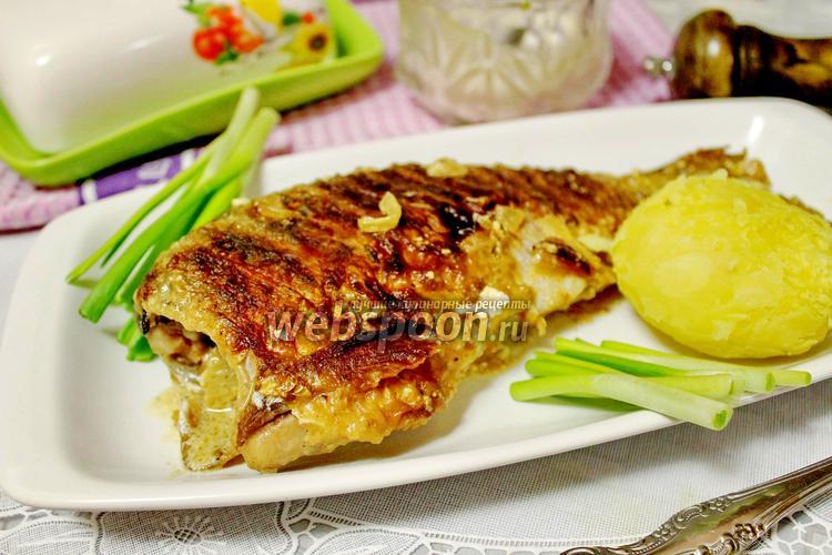 Рецепт Карась в сметане на сковороде