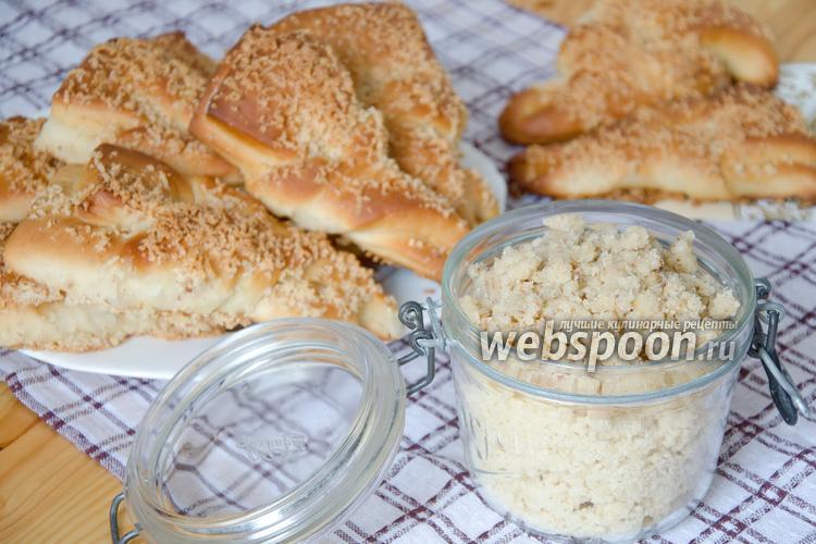Рецепт Штрейзель — посыпка для булочек и пирогов