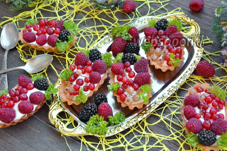 Фото Тарталетки с ягодами