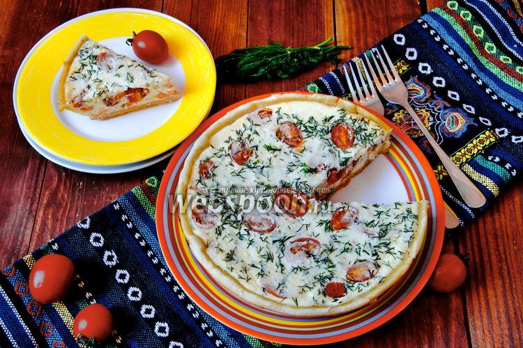 Рецепт Заливной пирог с кижучем в мультиварке