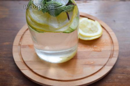 Залейте чистой, отфильтрованной водой. Уберите в холодильник не менее, чем на 12 часов.