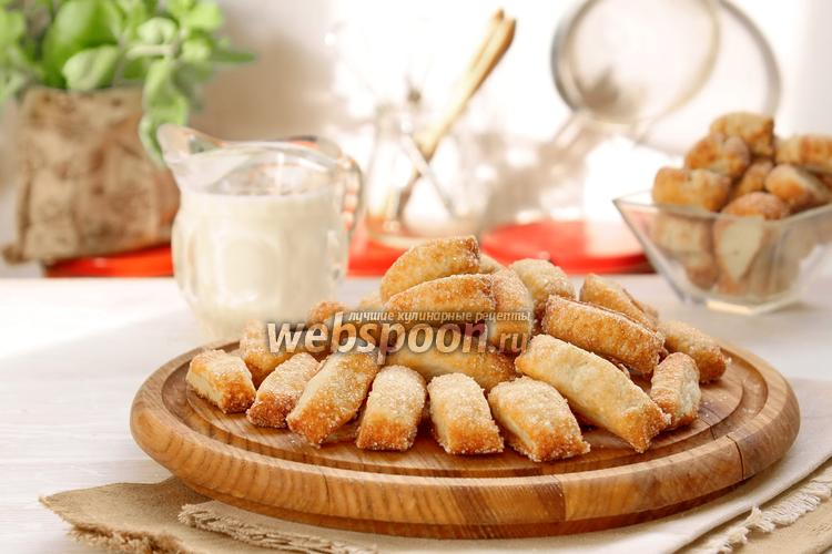 Фото Сахарное печенье «Дамские пальчики»