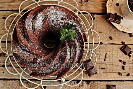 Кофейно-шоколадный кейк