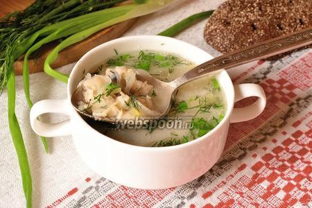 Суп калья рыбная