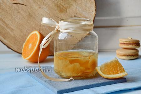 Апельсиновая настойка
