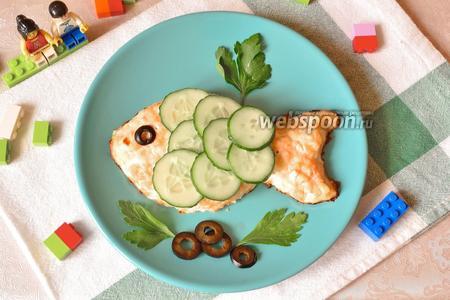 Котлеты рыбные для детей «Золотая рыбка»
