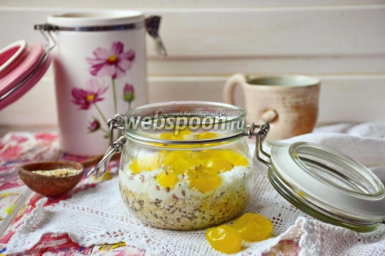 Рецепт Ленивая овсянка с кумкватом