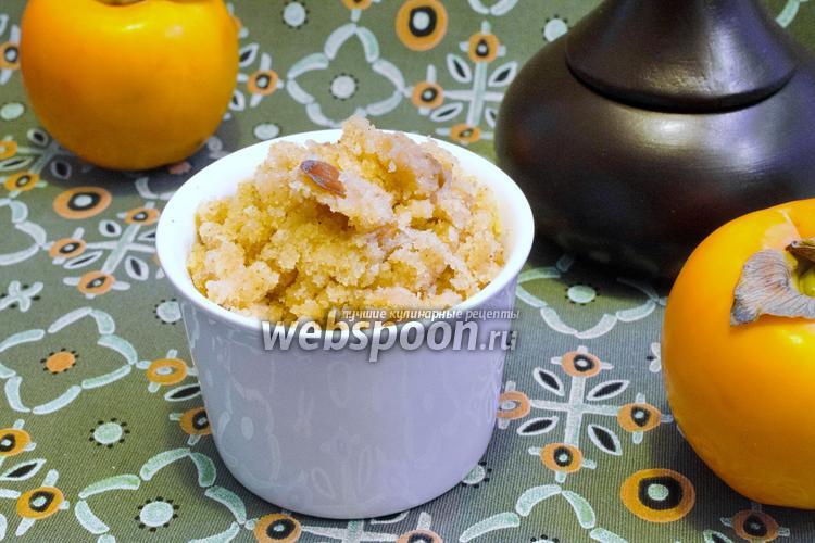 Рецепт Халва из манки с тыквенными семечками