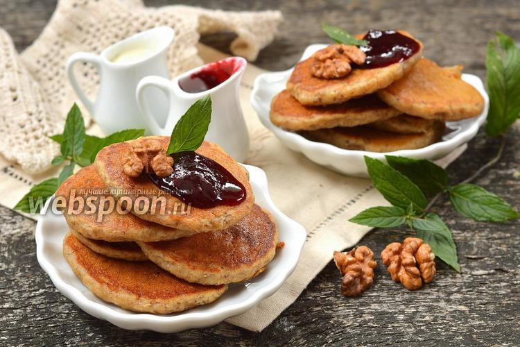 Рецепт Дрожжевые оладьи с орехами