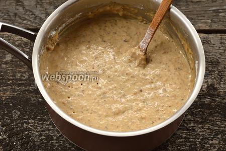 Оставить тесто на 30 минут в тёплом месте.