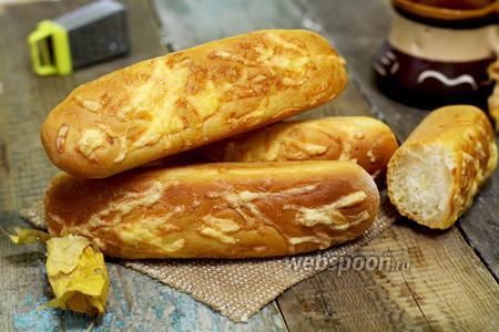Багеты с сыром в хлебопечке