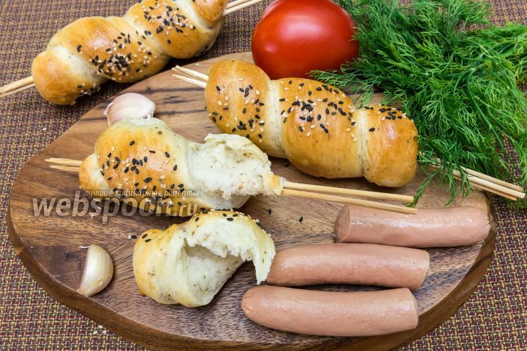 Рецепт Охотничий хлеб