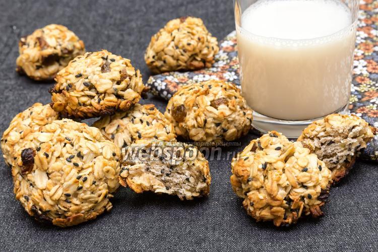 Фото Овсяное печенье с имбирём