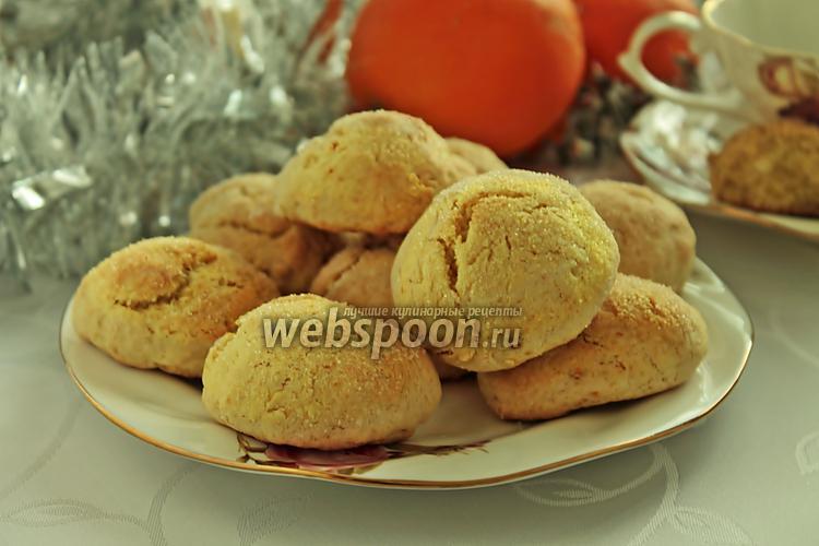Фото Печенье на апельсиновом соке