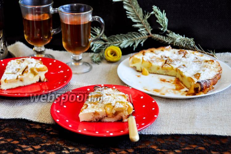Рецепт Голландский яблочный «Dutch baby»
