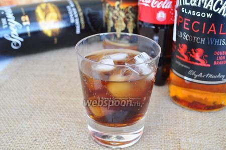 Коктейль Виски Кола