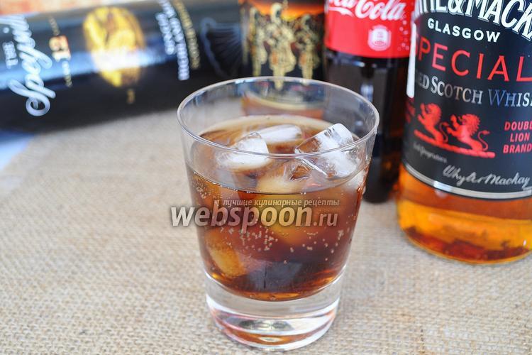 Рецепт Коктейль Виски Кола