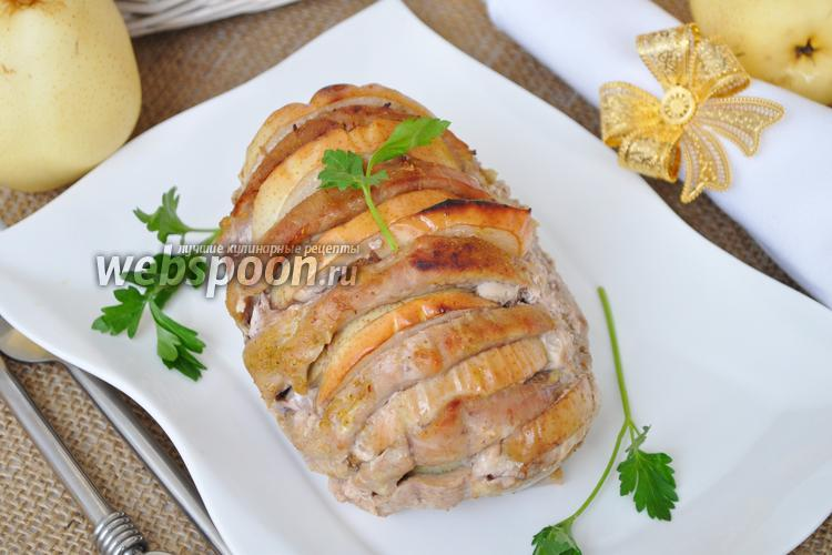 Рецепт Свинина гармошкой