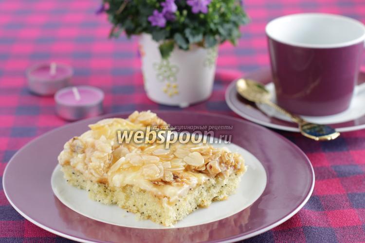 Фото Маковый кухен с пудингом