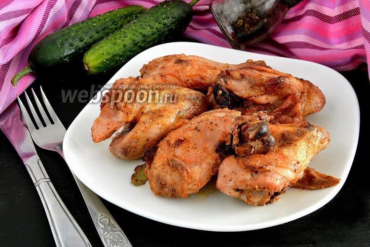 Рецепт Курица, запечённая в греческом йогурте
