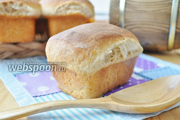 Рецепт Бездрожжевой хлеб на обойной муке