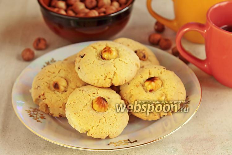 Фото Фундучное печенье