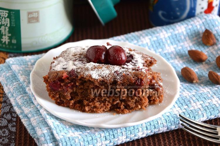 Рецепт Постный пирог с вишней