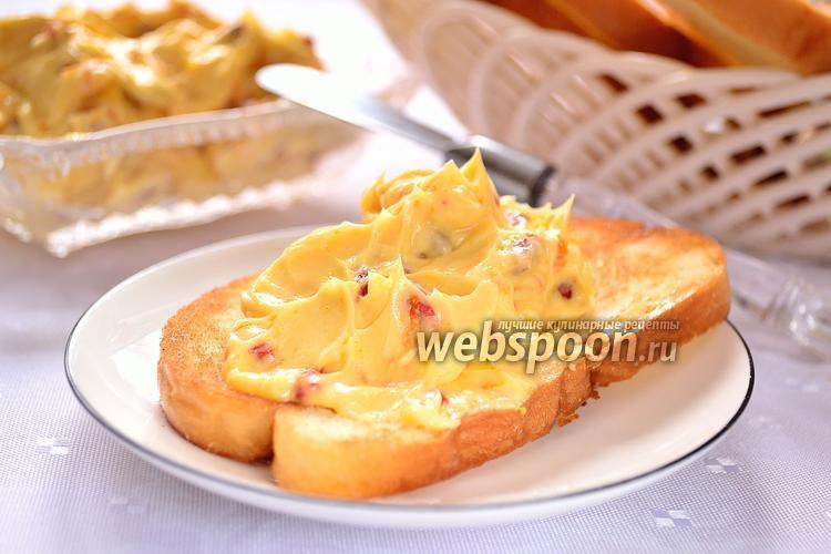 Рецепт Медовое масло с годжи и цедрой апельсина