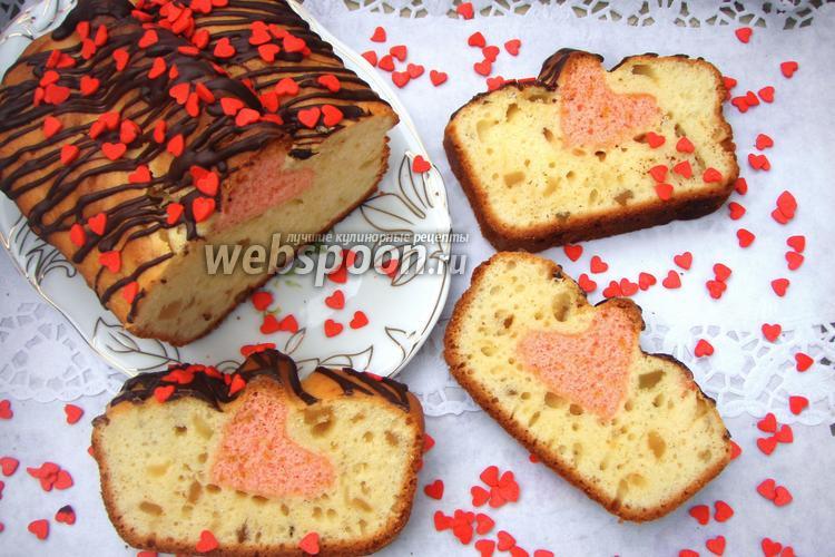 Рецепт Кекс «Валентин»